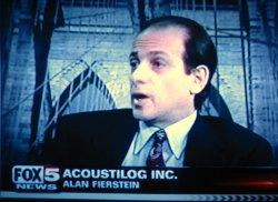 Acoustilog, Incorporated: Alan Fierstein on Fox 5 News
