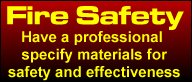 Fire Safety Banner